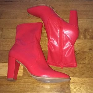 DOLCE VITA Red Women's Heels Size 8.5 NWT
